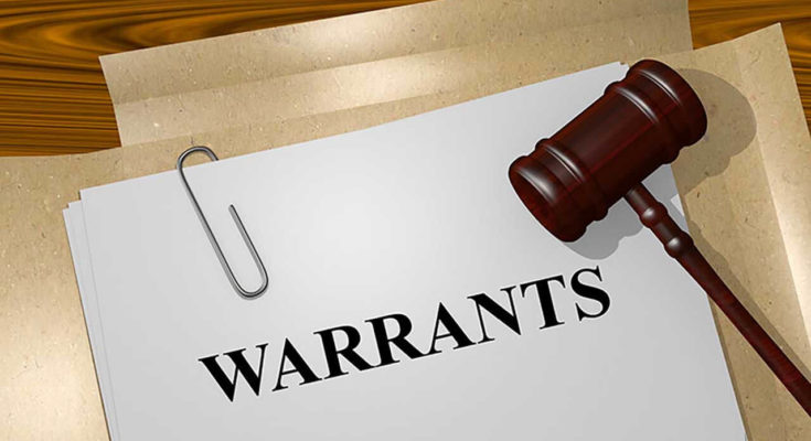 Warrant for committal after failure to appear on enforcement hearing
